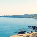 Punta Spadillo dalla spiaggia di Campobello