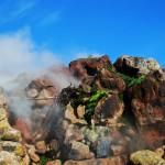 Cromoterapia alle Favare di Pantelleria