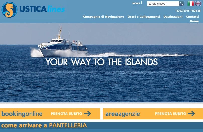 aliscafo trapani-pantelleria-trapani